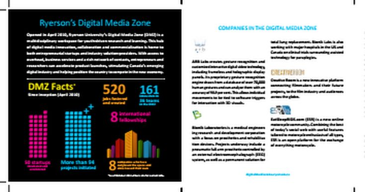 Created the content for this startup overview Marketing Collateral