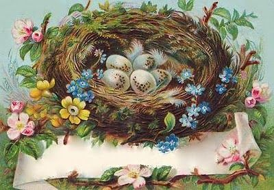 bumble button: Scrumptious Antique Victorian Greeting and Postcards Free as clip art for you!