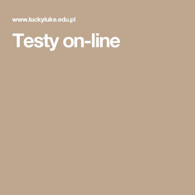 Testy on-line