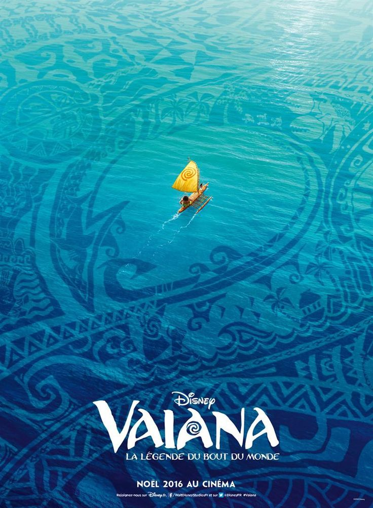 A new international poster for Disney's Moana. See the trailer.