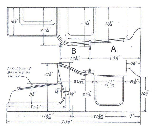 Model A Truck Dimensions The H A M B инженерни