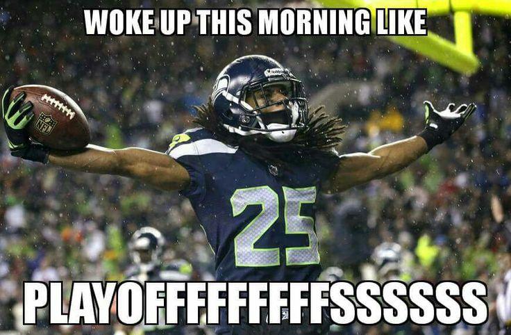Seahawks playoffs!!!!!!!!