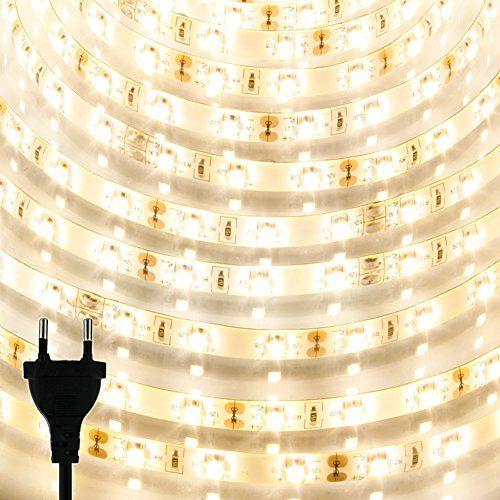 KooPower 5M LED Strip Streifen wasserdicht - SMD3528 300 LED Licht Band inkl. 24W Netzteil - warmweiß - Komplett Satz Koopower http://www.amazon.de/dp/B00OQ72RDQ/ref=cm_sw_r_pi_dp_upaBvb181NDF5