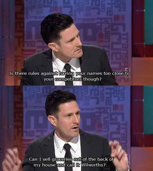 ...because he has brilliant ideas that could help ***keep the economy going*** | 21 Reasons Why Australia Needs More Wil Anderson