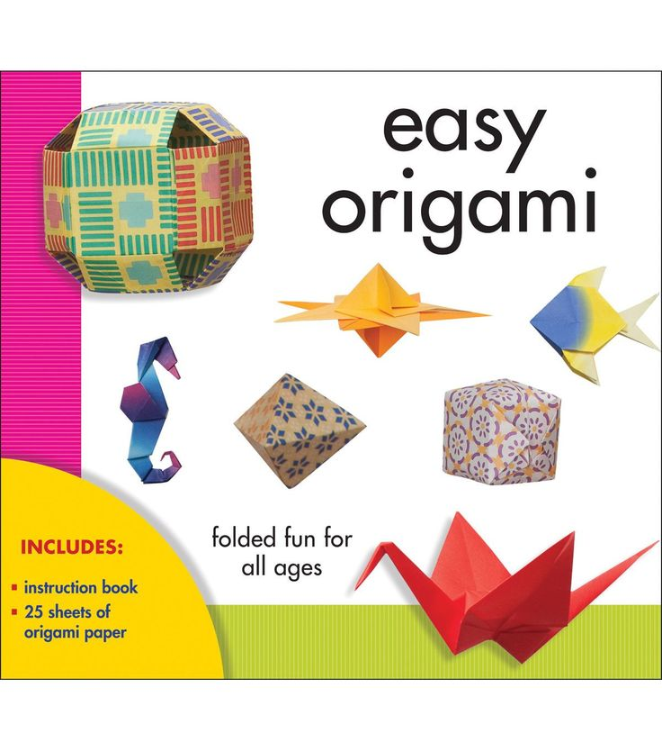 STERLING PUBLISHING-Easy Origami Kit. Create 20 splendid origami models using the ancient Japanese art of paper folding. Get started with this kit that will teach you basic techniques and provide you