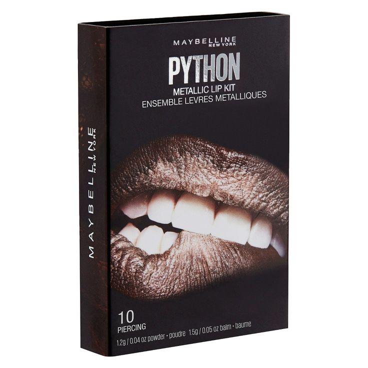 Maybelline Lip Studio Python Chrome 02 Shade 2 0.08 oz, Purple