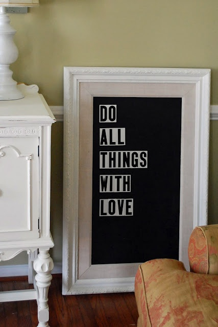 Do all things with LOVE: Wall Decor, Canvas Projects, Crafts Ideas, Recycled Projects, Chalkboards Paintings, Houses Decor Crafts, Art Ideas, Recycled Art, Art Projects