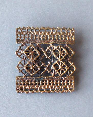 Pentti Sarpaneva Large Bronze Brooch