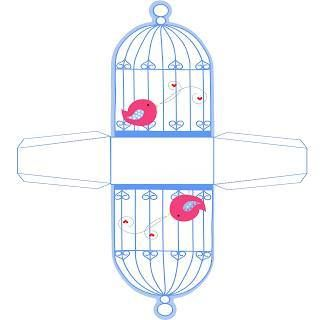 personalizados impressão festa passarinhos