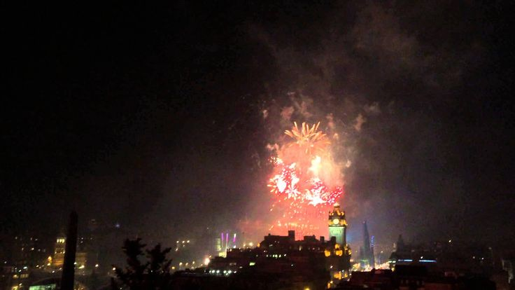 """Edinburgh Hogmanay 2015 Fireworks-Ok, this is way more than a road trip but it's on the """"bucket"""" list!!"""