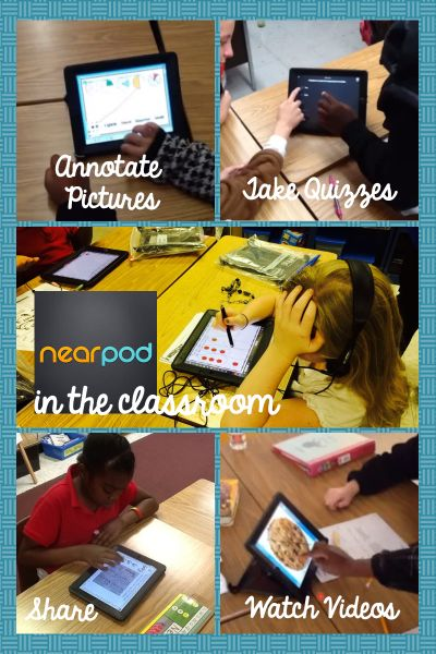 5 Reasons to Use Nearpod in the Classroom - Nearpod is a free tool that you can use to create enriched multimedia presentations. Great guest blog post by Jen Kimbrell of Tech with Jen