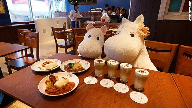 Moomin cafe Hong Kong