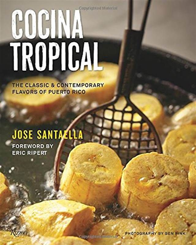 "One of the most beloved Puerto Rican chefs, Jose Santaella, offers a beautiful homage to Puerto Rican cuisine in his lushly photographed and well-researched cookbook, ""Cocina Tropical."" Learn how to make his favorite boricua recipes, from appetizers and desserts to morcillas (blood sausages) to the perfect plantain mofongo.   Cocina Tropical, $25.82, Amazon"