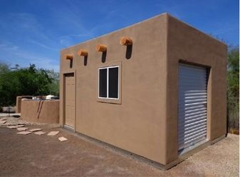 Here's a 12'x16' custom building that was built by our