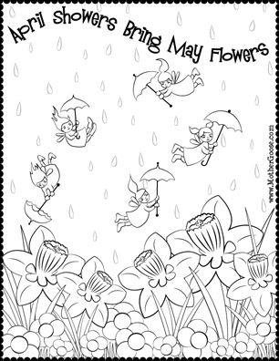 18 best Coloring pages images on Pinterest Coloring books - new preschool coloring pages rain