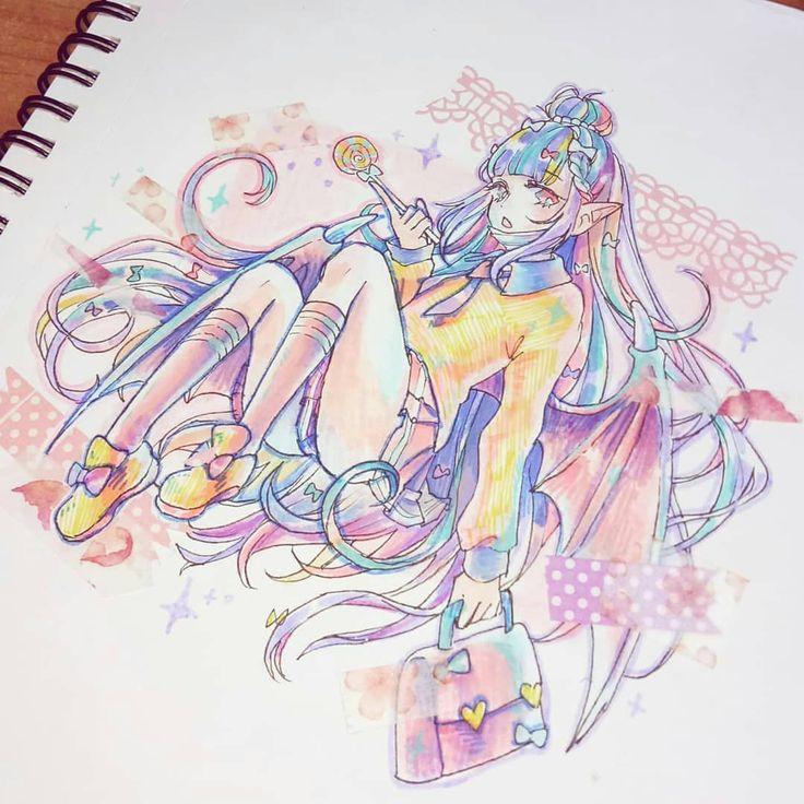 rainbow hair hard color
