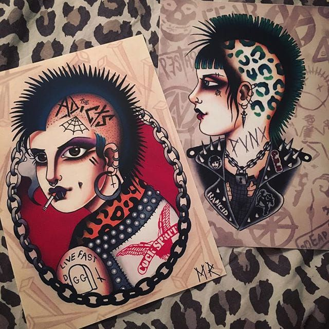 Tattoo Fixers Psychobilly Girl Punk: 1000+ Ideas About Tattoo Trends On Pinterest