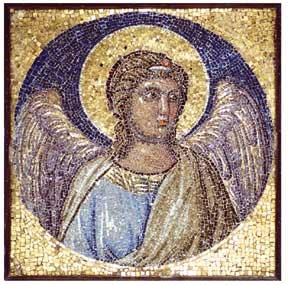 Il mosaico di Giotto, a Boville Ernica.