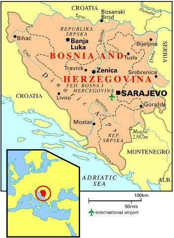Best EBosnia And Herzegovina Images On Pinterest Bosnia - Bosnia and herzegovina interactive map
