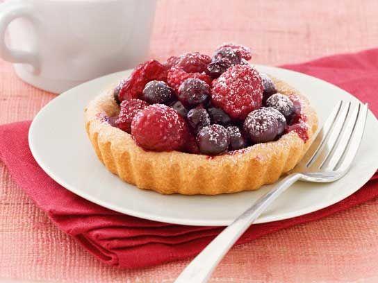 Mixed-Berry Tart