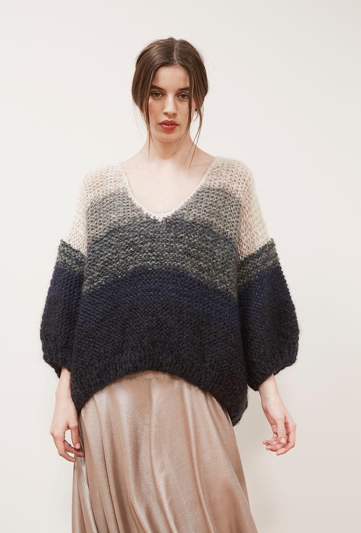 pull mohair fait main prêt-à-porter paris mode fashion