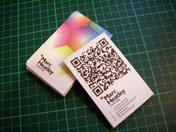 30 Creative QR code business cards   Webdesigner Depot