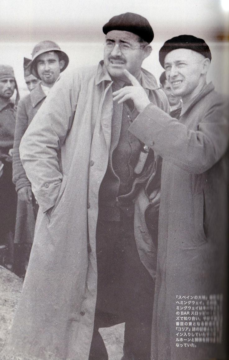 "Hemingway & Raglan sleeves coat of ""the Spanish earth"" American Casual Fashin / Hemingway Style ヘミングウェイの愛用品/ファッション・アメリカンカジュアル篇 〜「スペインの大地」のラグランコート〜"