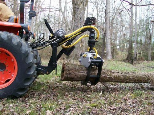 Iowa Farm Equipment -- BSG Mini Loader, 3 Point and Skid Steer Log Grapples