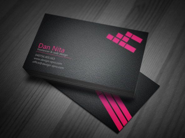 20 best free psd business card templates images on pinterest free pink business card psd fbccfo Choice Image