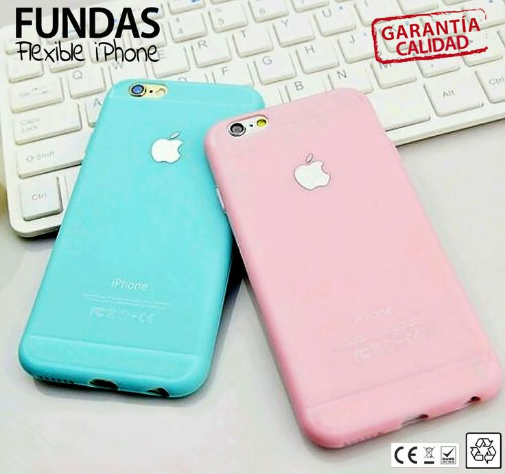 CARCASA SILICONA FUNDA GOMA TPU de iPhone 5 / iPhone 6 / iPhone 6 Plus FLEXIBLE…