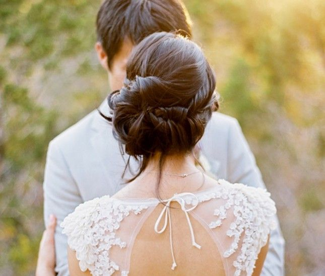 54 Best Images About Low Bun Wedding Hair On Pinterest