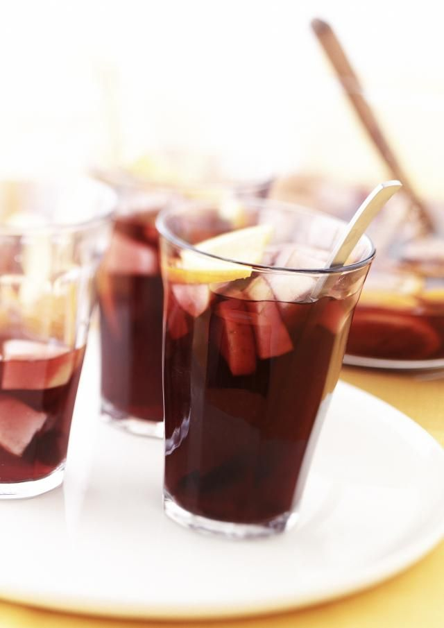 This classic Spanish sangria recipe is the only sangria recipe you need! It's the perfect base for a delicious and refreshing red wine sangria.
