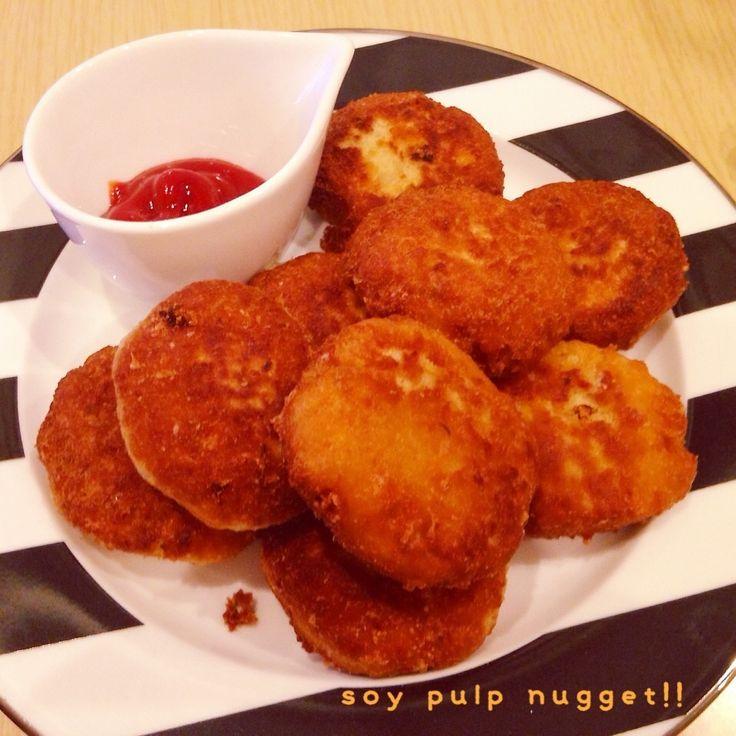 今日のおから部(おかLOVE)です☆ 今日豚ひき肉が特売だったのですが鶏ひき肉の方がイメージにありました♡   なーみちゃん、おからまだ飽きてないかな!?笑