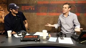 """Colin Cowherd ('85 BA radio-television) can be heard every weekday on ESPN radio interviewing the biggest newsmakers in sports as host of """"The Herd."""""""