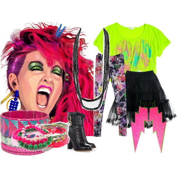 7 Best Images About 80s Costume Ideas On Pinterest Cyndi Lauper  sc 1 st  Lovely Lollies & How To Dress Like Cyndi Lauper | Weddings Dresses