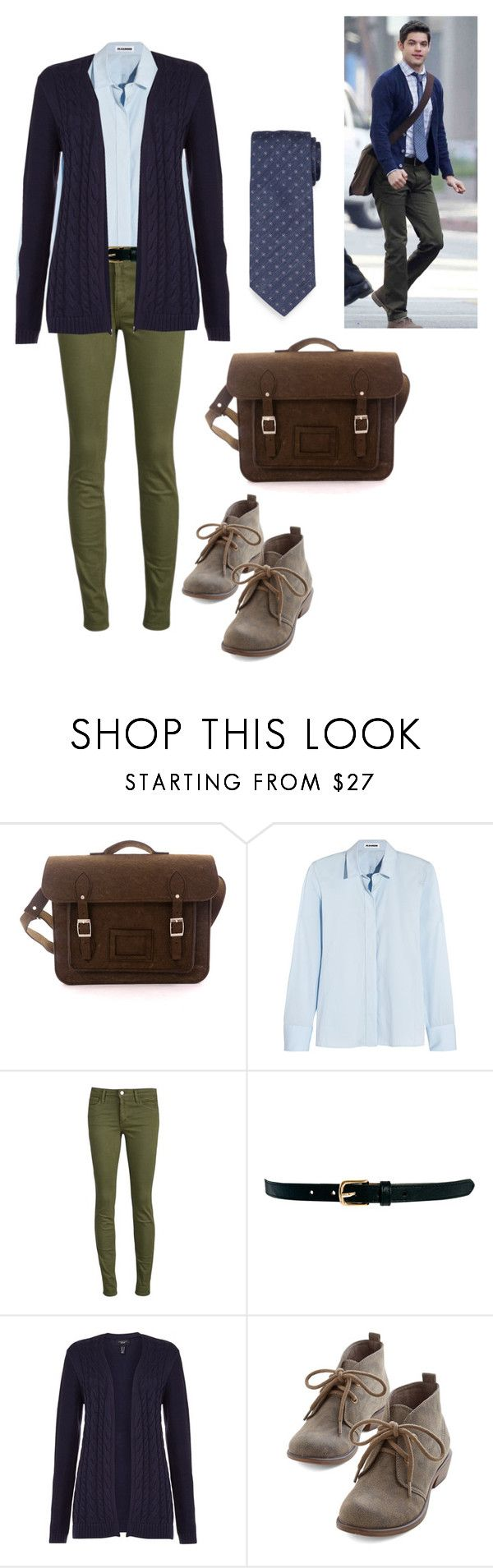 Winn- Supergirl by rebellious-ingenue on Polyvore featuring Lands' End, Jil Sander, Joe's Jeans, Warehouse and Brioni