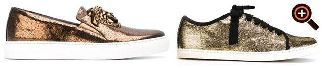 Sneaker Gold – für Damen & Herren von Giuseppe Zanotti, Philippe Model, Saint Laurent
