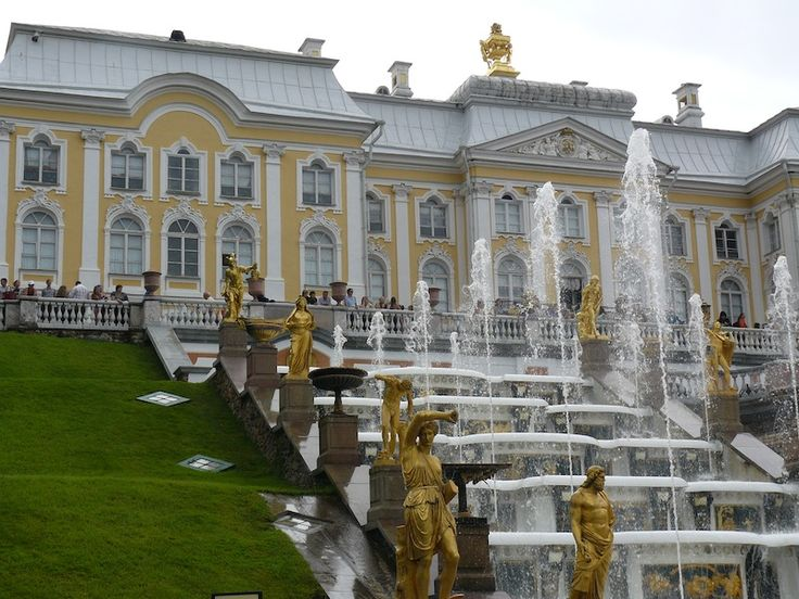Peterhof Palace is a perfect daytrip from St Petersburg Russia via hydrofoil:  www.traveladept.com