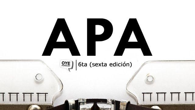 Normas APA 2017 - Sexta edición (Descargar PDF) | En la actualidad, las Normas APA 2017 nos permiten contemplar una serie de reglas universales en la citación, referencias bibliográficas y formato de presentación en un trabajo de investigación. La edición nº 6 ha incluido algunas revisiones que se detallan aquí.