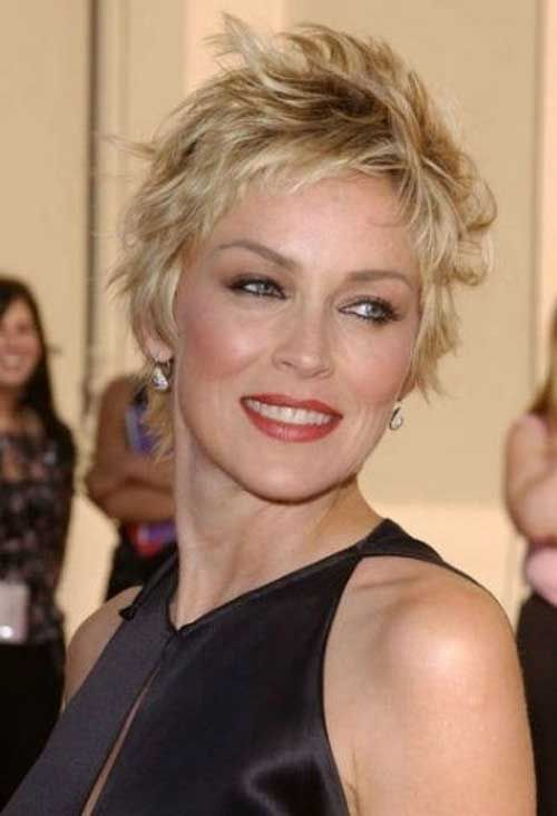 Short Gy Hairstyles For Women Over 50 Hair Pinterest Styles And