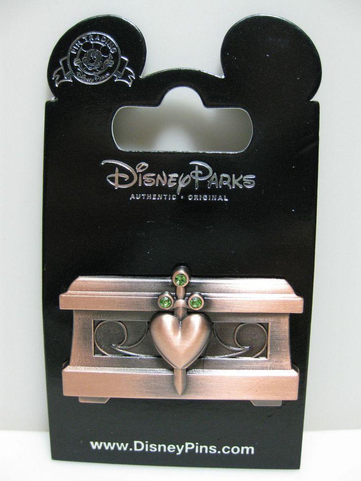 Disney Pin Snow White Evil Queen Chest Heart Box New on Card | eBay