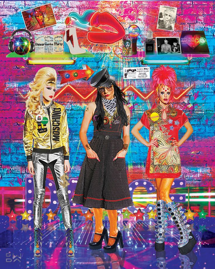 """Dance DJ"" #popart #digitalart #princessjulia #tastytim #jodieharsh"