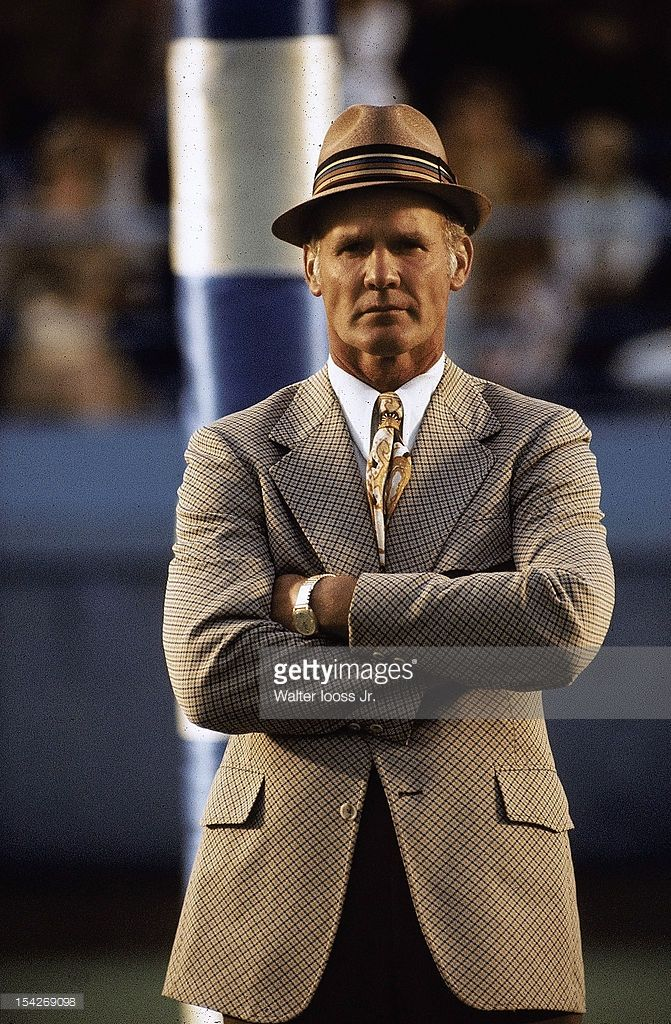 Dallas Cowboys head coach <a gi-track='captionPersonalityLinkClicked' href=/galleries/search?phrase=Tom+Landry&family=editorial&specificpeople=240241 ng-click='$event.stopPropagation()'>Tom Landry</a> on field before game vs 39th Annual College All-Stars at Soldier Field. Chicago, IL 7/28/1972