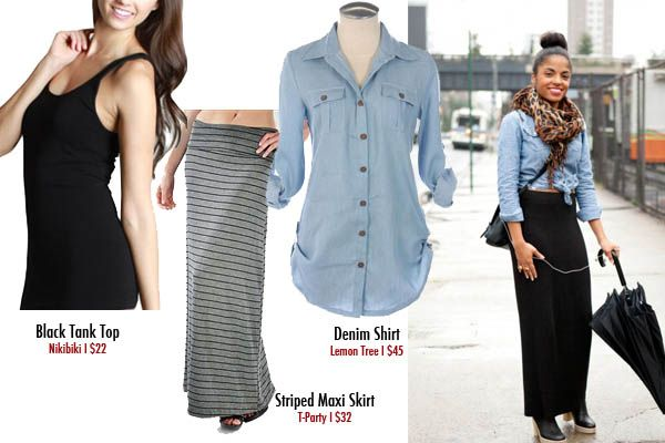 A denim shirt is definitely a must have for your spring/summer/fall closet collection. This denim shirt works so well with so many items. Here are our favorite denim shirt outfits!