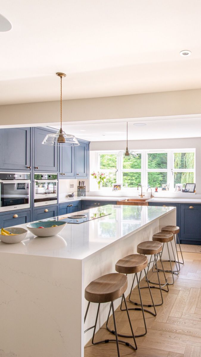 View The Brentwood Kitchen Details In 2020 Open Layout Kitchen Living Room Open Plan Kitchen Dining Living Modern Kitchen Cabinet Design