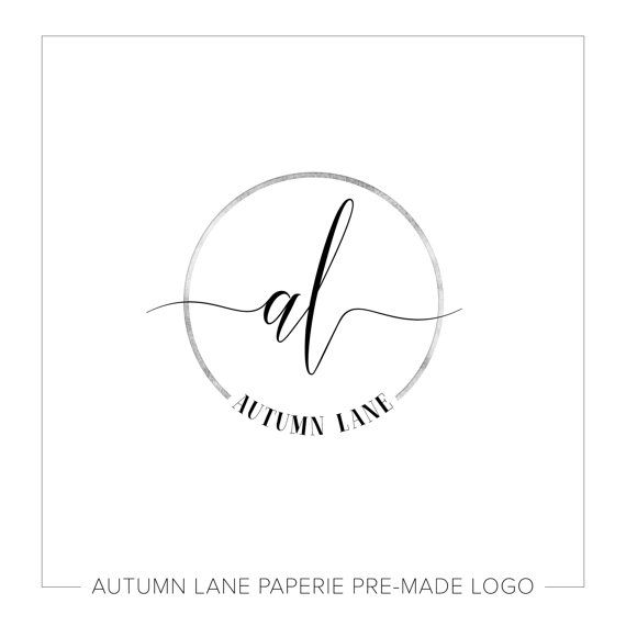 Premade Logo Design Initials Logo by AutumnLanePaperie on Etsy