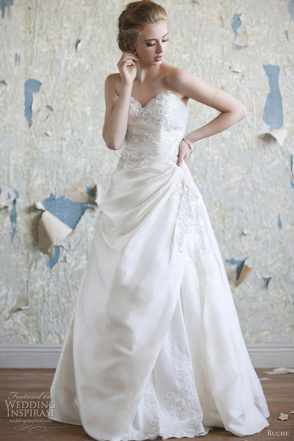 Ruche Bridal 2012 CollectionFull Skirts, Wedding Dressses, Bridal Collection, Taffeta Wedding Dresses, Bridal Dresses, Vintage Romances, Gowns, Ruched Bridal, Vintage Inspiration