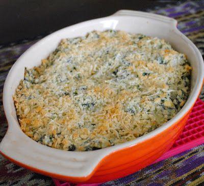 Невыразимая легкость кулинарного бытия...: Теплый дип из артишоков и шпината