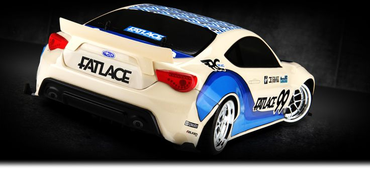 RS4 SPORT 3 DRIFT RTR WITH SUBARU BRZ BODY- Fjernstyret Bil