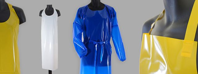 Indigo Bay Tex: How are TPU Industrial Aprons, Gowns, Sleeves are ...  #TPU #IndustrialAprons #Gowns #Sleeves #Disposables #PVC